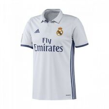 Maillot adidas Real Madrid Domicile 2016-2017 Crystal white-Raw purple