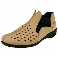 Mujer Rohde Zapatos style-1179 Color Beis Sin Cordones