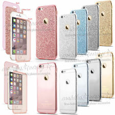 Hybrid 360° Silicone Protective Clear Case Cover For Apple iPhone 7  6s plus