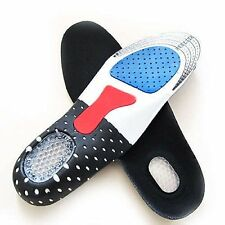 Men Women Orthotic Arch Support Insoles Sport Comfort Shoe Shock Absorb Gel Heel