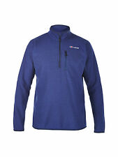 Berghaus Stainton Half Zip Fleece. Blue,Grey,Green