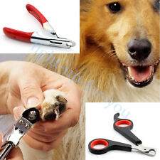 Stainless Steel Dog Cat Pet Nail Toe Claw Clippers Trimmers Cutter Scissors Tool