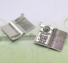 New 3/10pcs Antique silver lovely delicate devil of the death note charm pendant