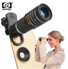 Apexel 2.5x 3x 8x 10x 12x 18x Zoom Telephoto Telescopic Lens for Phone [Stock]