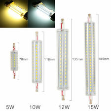 Dimmable R7S 8W 118MM 72 SMD 2835 LED Pure White Warm White Corn Light Lamp Bulb