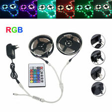 10M SMD 3528 Waterproof RGB 600 LED Strip Light + Controller + Cable Connector +