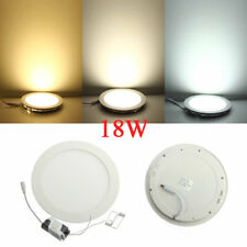 Dimmable Ultrathin 18W LED Ceiling Round Panel Down Light Lamp