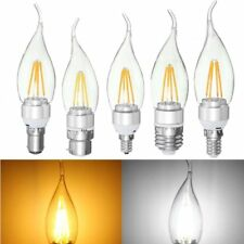 E27 E14 E12 B22 B15 4W Silver Pull Tail Incandescent Light Lamp Bulb Non-Dimmabl