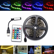 0.5/1/2/3/4M SMD3528 Non-waterproof RGB LED Strip Light TV Back Lighting Lamp +