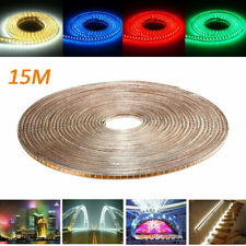 15M SMD3014 Waterproof LED Rope Lamp Party Home Christmas Indoor/Outdoor Strip L