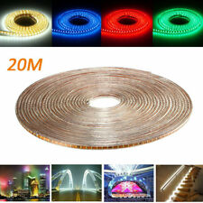 20M SMD3014 Waterproof LED Rope Lamp Party Home Christmas Indoor/Outdoor Strip L