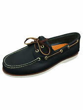 Timberland Mens CLS2I Lace Up Navy Blue Boat Shoes in Size UK 8 / EUR 42