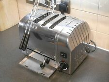 SUPERB DUALIT THREE 3 COMBI POLISHED 2+1 TOASTER EXTRA WIDE SLOT & SANDWICH CAGE