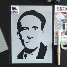 Marcel Duchamp Wall Art Stencil Decoration Paint Any Surface Painting Reusable