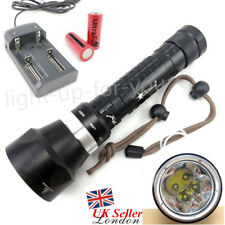 SolarStorm 4xCree LED U2 T6 Dive Scuba Diving Torch Flashlight 6000LM Underwater