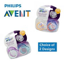 Philips Avent Free Flow Soothers - Age 6-18m CHOICE OF DESIGN (A58)