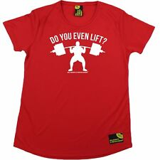 SWPS Do You Even Lift Dry Fit Sports Round-Neck T-SHIRT