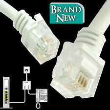 RJ11 to RJ11 ADSL2+ High Speed Broadband Modem Router Phone Line Cable 1 2 5 10M