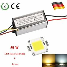 10W 30W 50W LED SMD Chip Bulb With Driver Supply High Power DIY Fluter