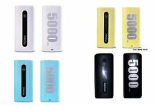 5000mAh External Power Bank Pack Portable USB Battery Charger For iPhone Samsung