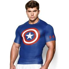 Under Armour - Maglia sportiva Alter Ego Captain America - Royal (402)