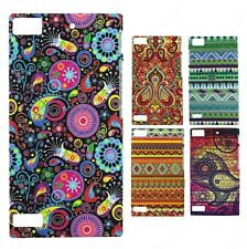 Heartly Aztec Print Tribal Matte Style Thin Hard Back Case Cover - Blackberry Z3