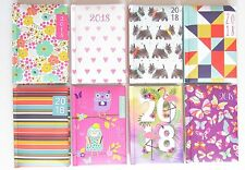 2018 Pocket Small Diary Week To View Diaries Christmas Gift Idea Assorted Design
