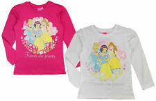 Disney Princess Kinder Mädchen Langarmshirt Gr.92-128 Sweat Shirt Pullover neu !