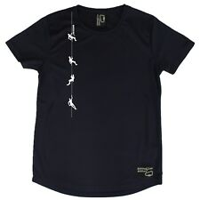 AA - Climbers on Rope - Dry Fit Breathable Sports Round-Neck T-SHIRT