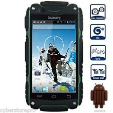 4.0 pulgadas Discovery V8 Android 4.4 3g SMARTPHONE MTK6572 1.0ghz Dual Core GPS