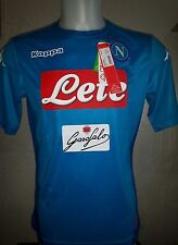 Maglia SSc NAPOLI Kappa 2018 Kombat Extra Serie A Tim Home New maillot golden