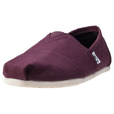 Toms Seasonal Classics Mens Red Canvas Casual Espadrilles Slip-on New Style