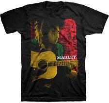 OFFICIAL LICENSED - BOB MARLEY - COLOURED POSE T SHIRT - REGGAE RASTA NATTY