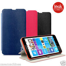 Heartly Premium PU Leather Flip Stand Hard Back Case Cover For Nokia Lumia 1320