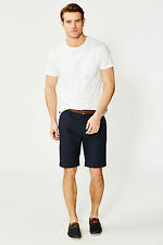 Threadbare Mens Round Neck T-Shirt with Chest Pocket & Jersey in Casual Style