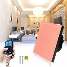 1 Gang/2 Gang/3 Gang Light Switch Wall Switch Remote Control Touch Switch AC110V