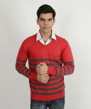 Indian Terrain Red Gray Sweater High Quality Reasonable Price Men & Boy's