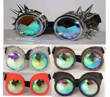 Kaleidoscope Goggles glasses Rave Dance EDM Sunglasses Diffraction Rainbow Lens