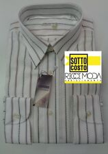 Outlet-75%  32 - 0 Camicia uomo shirt chemise camisa rubashka bvm 3200540200