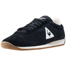 Le Coq Sportif Quartz Perforated Mens Black Walking Trainers New Style