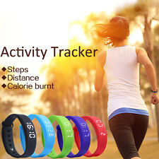 New Activity Tracker Bracelet Pedometer Fitness Counter Watch Band Strap 2017