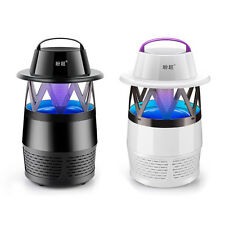 0671Outdoor Mosquito Killer Lamp LED Photocatalyst Mute Fan Night Light Insect R