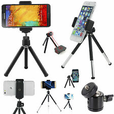 Universal Mini Tripod Rotatable Holder & Legs Adjustable Mount Stand For Mobiles