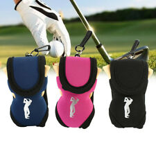 Elastic Golf Utility Pouch Balls Holder Tee Accessories Bag Carry Case ZY