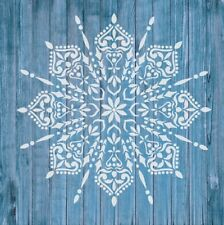 Stencil Mylar 125 Micron Mandala Wall Art Furniture Fabric Vintage Shabby Chic 3