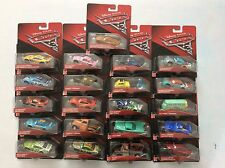 ** SALE ** NEW Disney Pixar Cars 3 DieCast Vehicle 1:55 Lots of Choice in Stock