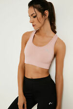 Only Play Womens Racer Back Sports Bra Padded Supportive Cups and Machine Wash