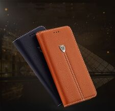 Luxury Magnetic Flip Cover Stand Wallet Leather Case For iPhone 5S SE 6 6S Plus