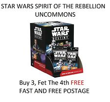 Star Wars Destiny TCG - Spirit of the Rebellion - Choose your Uncommon Card
