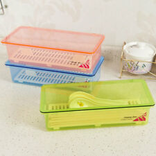 Multi-Functional Plastic Kitchen Tableware Chopsticks Spoon Fork Storage Box Wit